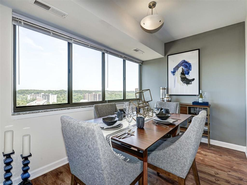 Defined Dining Space at The Mark Apartments, Alexandria, 22304