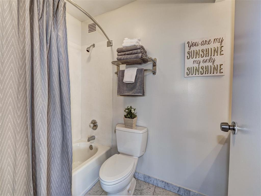 Upgraded Bathroom Fixtures at The Mark Apartments, Virginia