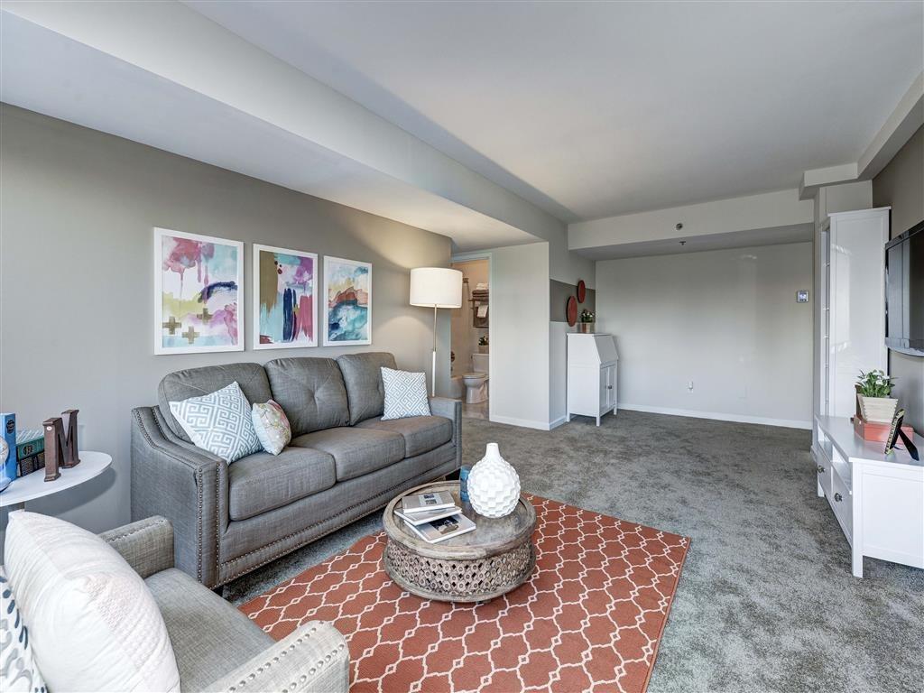 Ergonomic Living Space at The Mark Apartments, Alexandria, VA, 22304