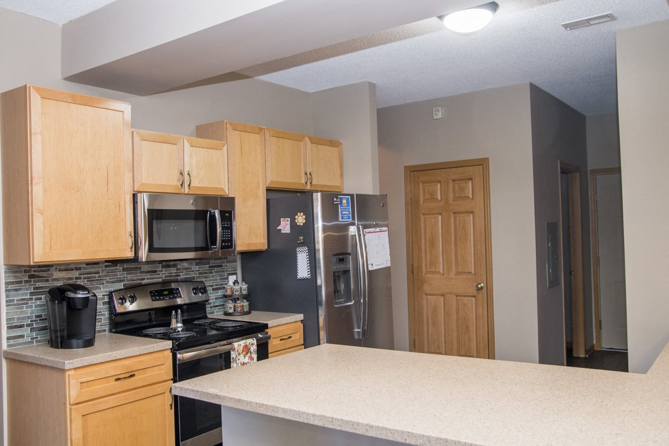 Interiors-Southwind Villas renovated kitchen in La Vista NE