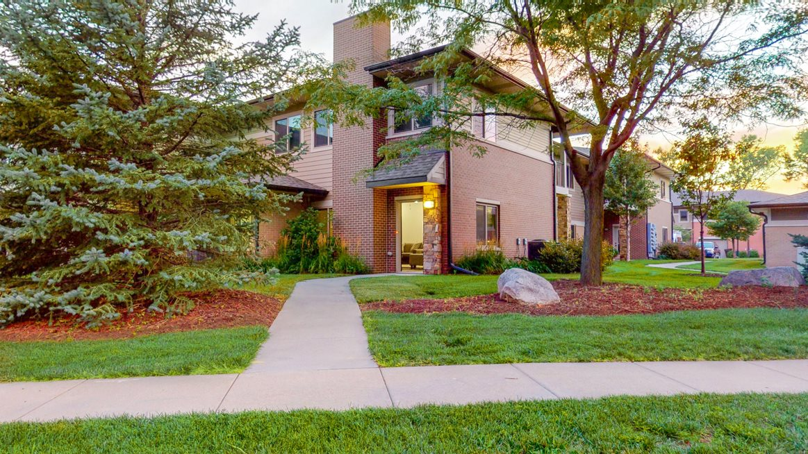 All homes feature private entrances at The Villas at Wilderness Ridge