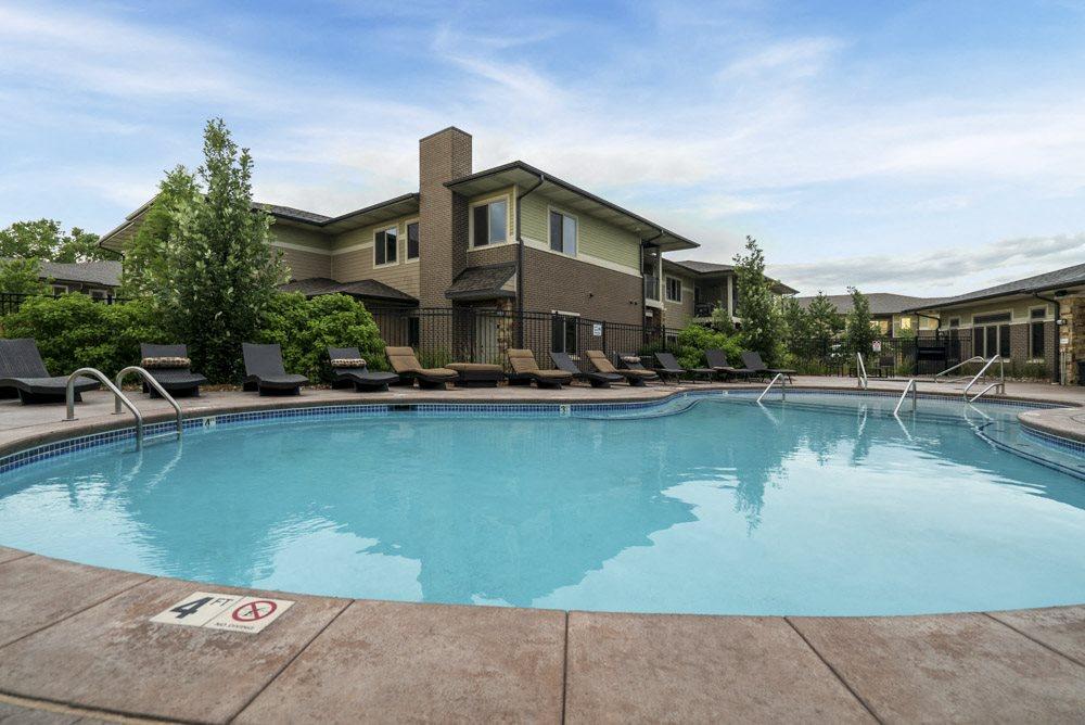 Pool at the Villas at Wilderness Ridge