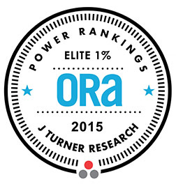 J Turner Research – 2015 ORA Power Rankings Elite Top 1 percent