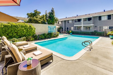 Baywind Apartment Homes in Costa Mesa, California.