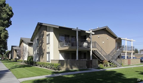 Greenbriar Woods Apartment Homes in Fullerton California.