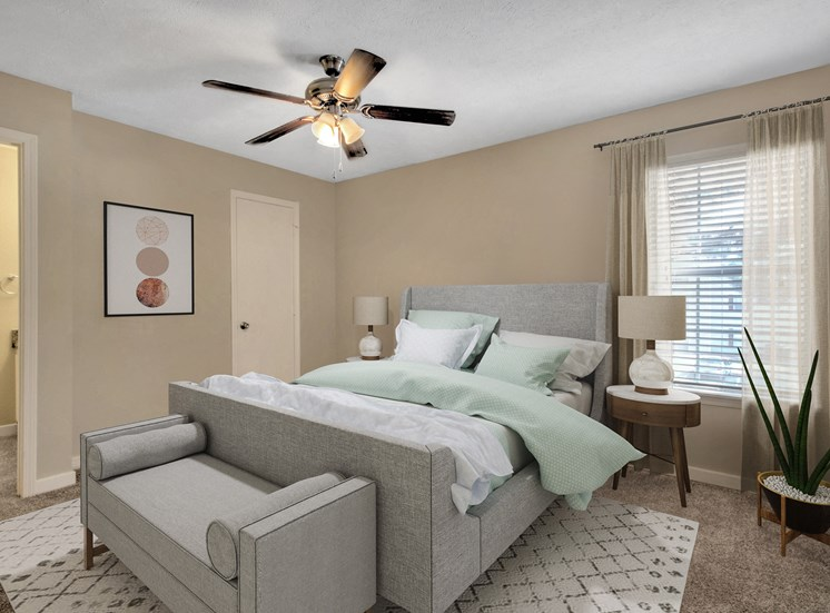 Cambridge Apartments Flowood MS Master Bedroom