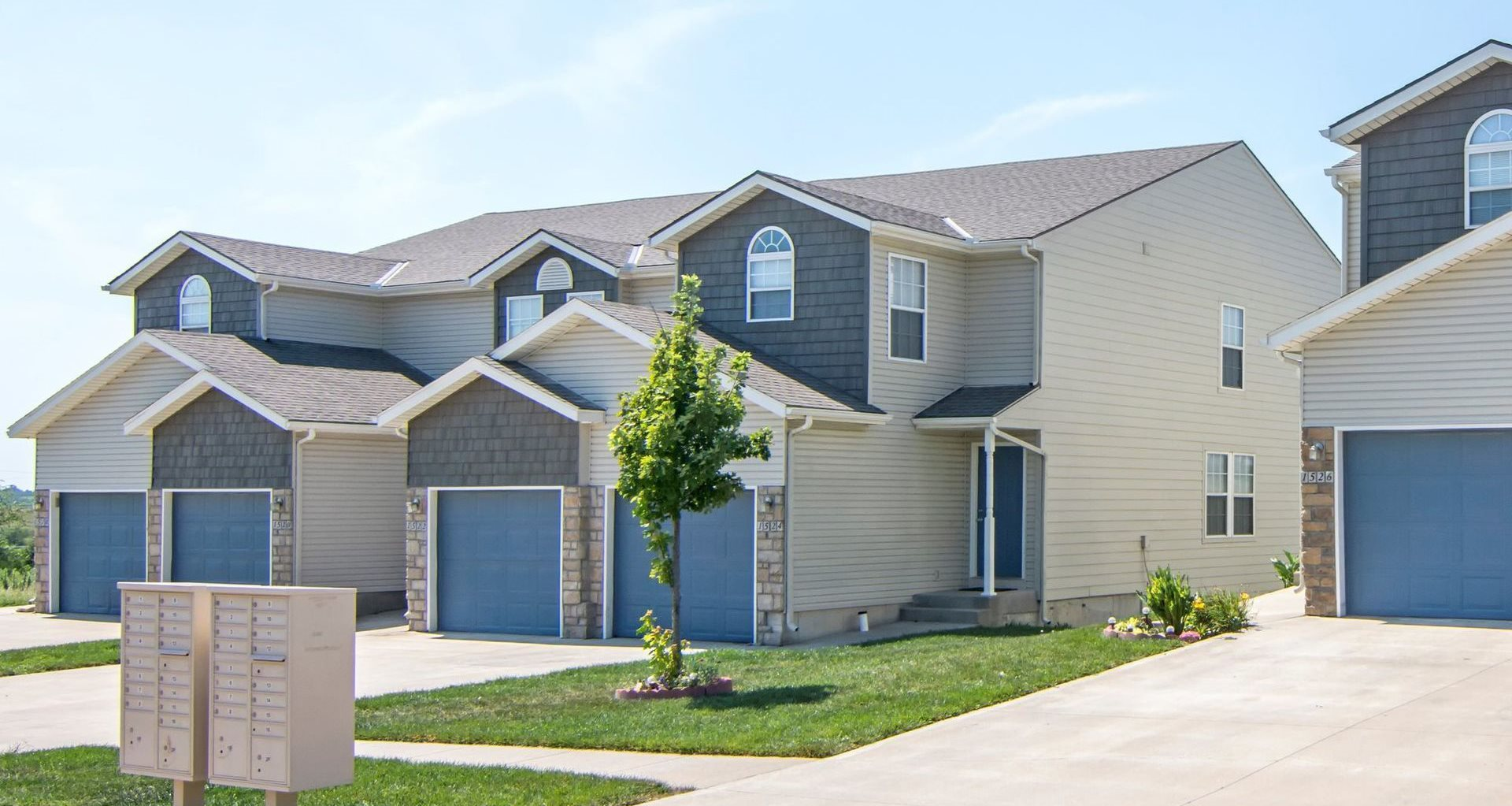 Patriot Pointe Townhomes Exterior in Junction City, KS