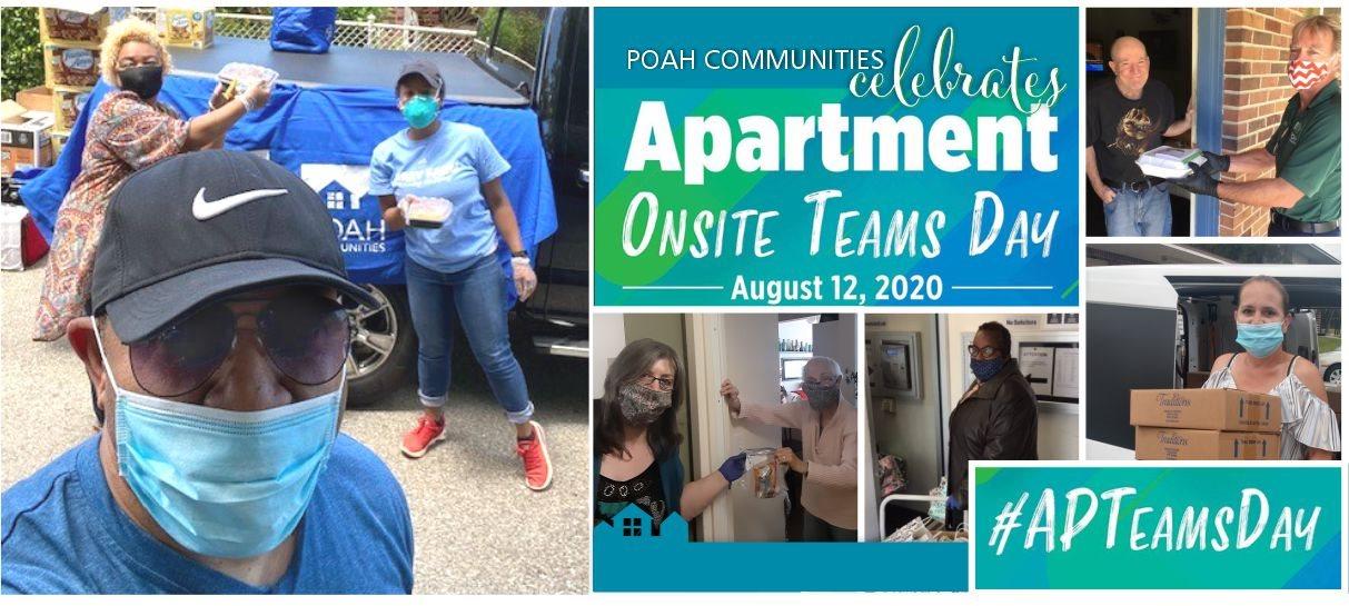 POAH Communities celebrates Apartment Onsite Teams Day