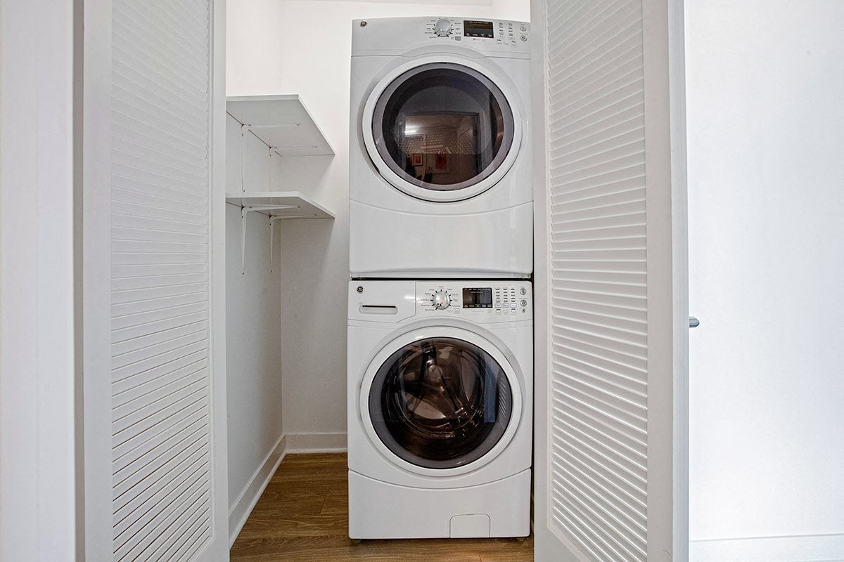 Apartments at Lincoln Common In-Home Washer and Dryer