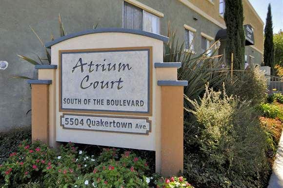 Atrium Court signage