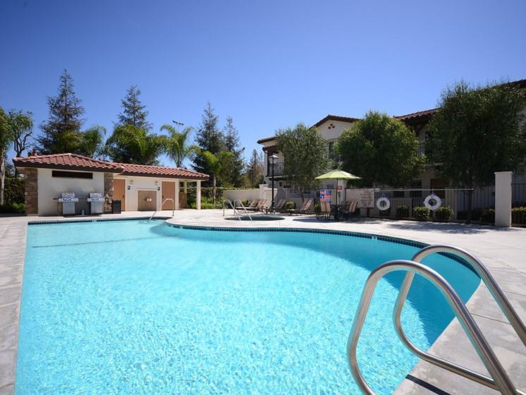 Parkside Villas pool entrance