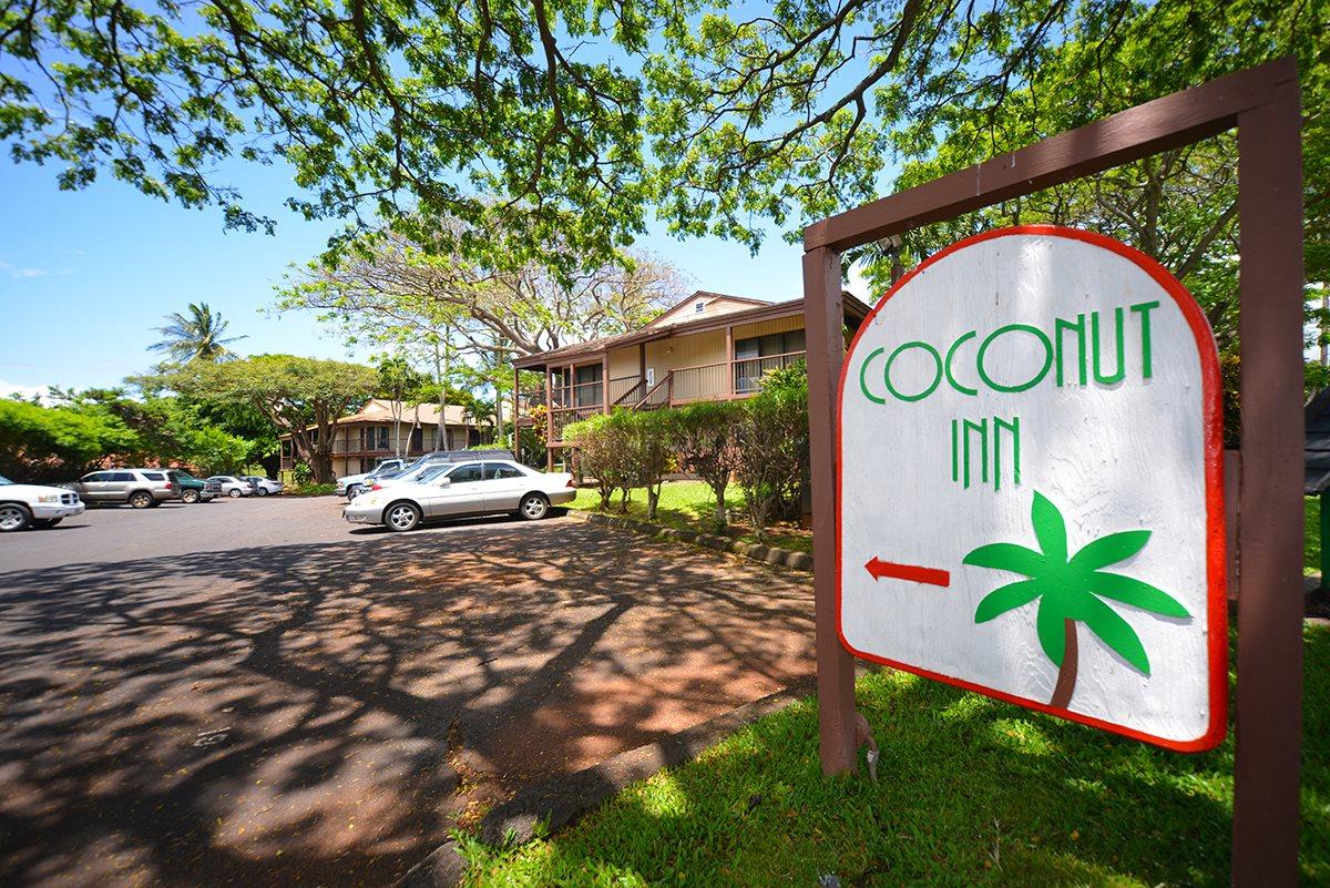 Coconut Inn signage