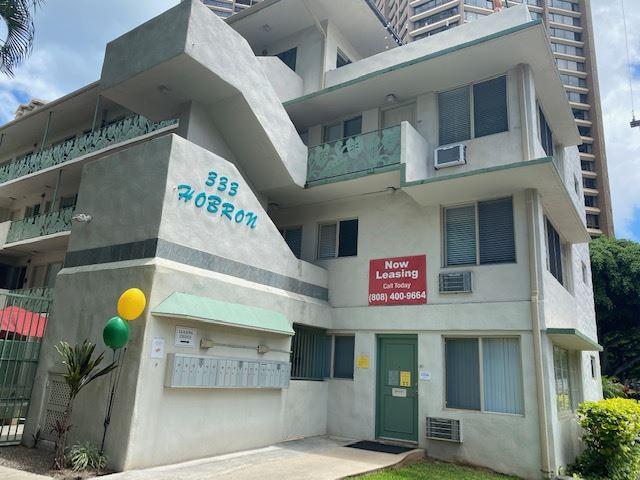 Hobron Apartments exterior building