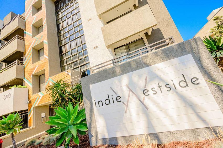 Indie Westside signage
