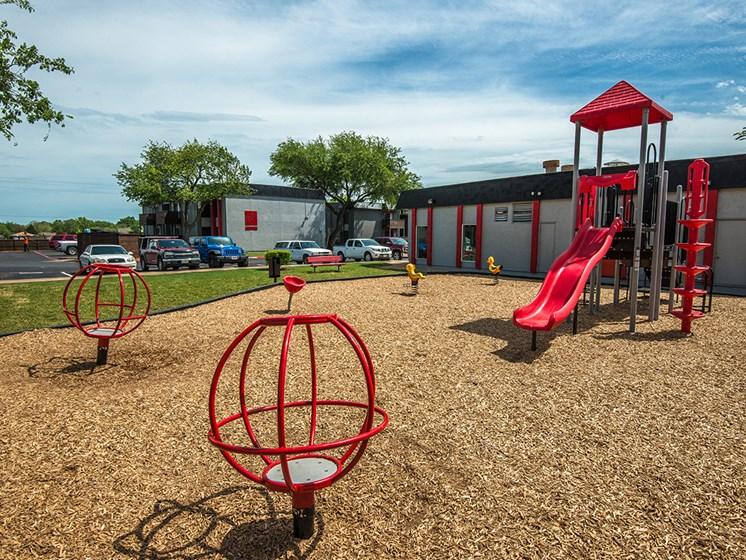 El Castillo Apartments outdoor playground
