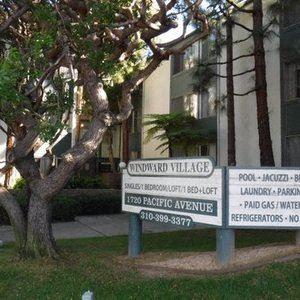 Windward Village Apartments signage