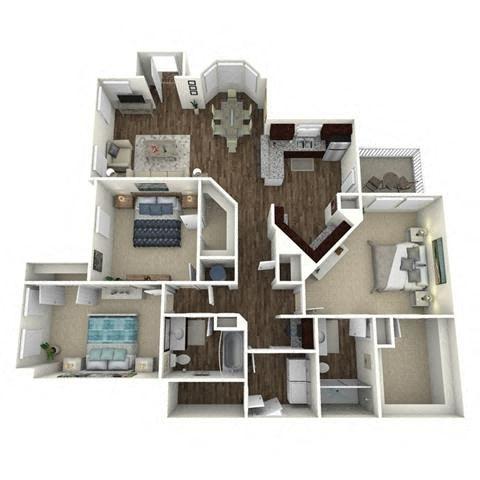 3 bedroom, 2 bathroom, garage