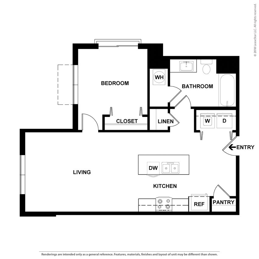 floor plan options in our riverwalk apartments