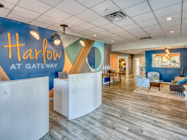 Large Leasing Office at Harlow at Gateway, St. Petersburg, 33702