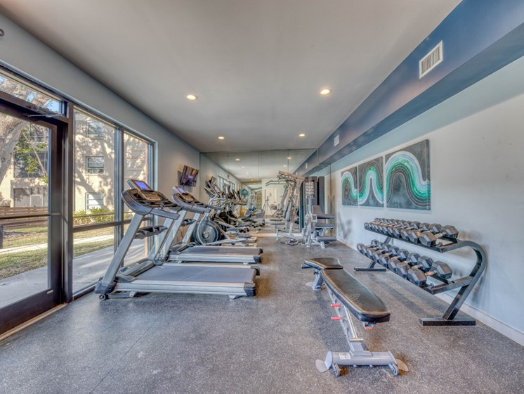 Fitness Center With Modern Equipment at Harlow at Gateway, Florida