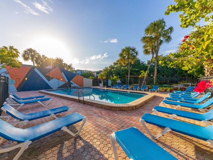 Relaxing Pool Area With Sundeck at Harlow at Gateway, Florida