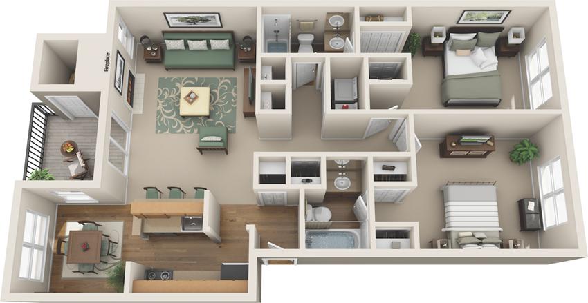 floor plan options in plano apartments