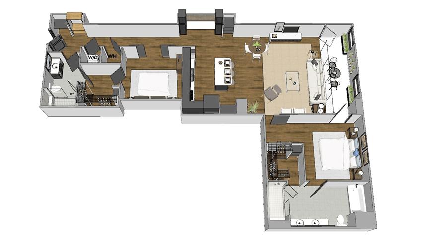 B4 floor plan