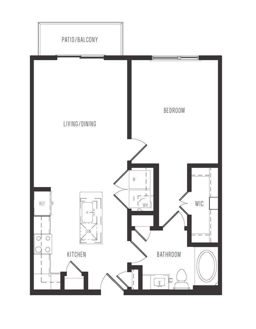 a1 floor plan in dallas texas apartments