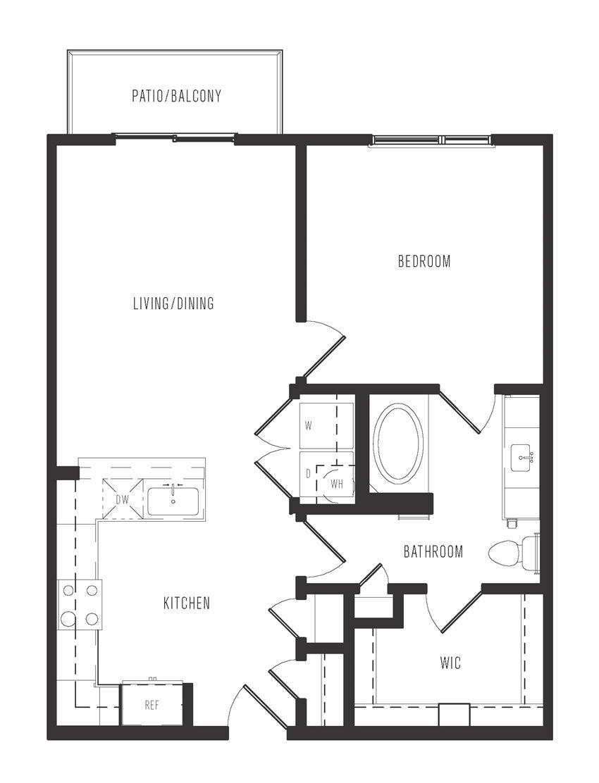 a2 floor plan in dallas texas apartments