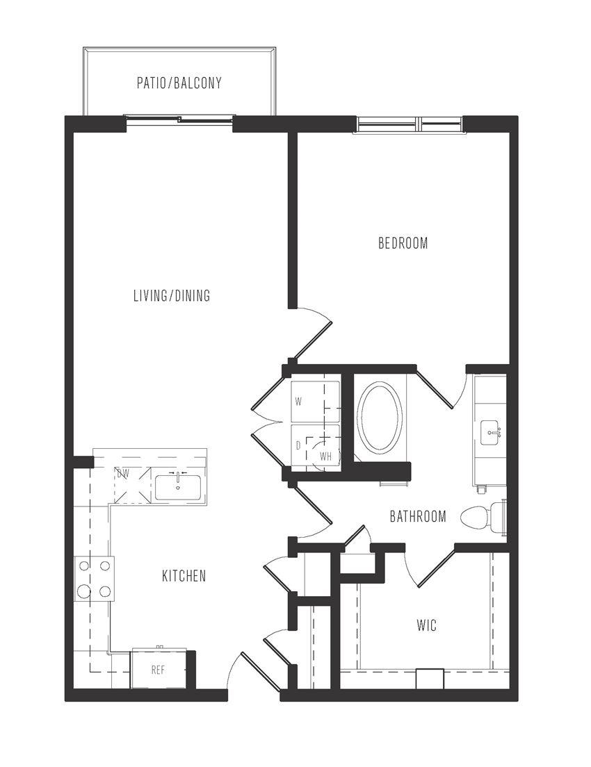 a2a floor plan in dallas texas apartments