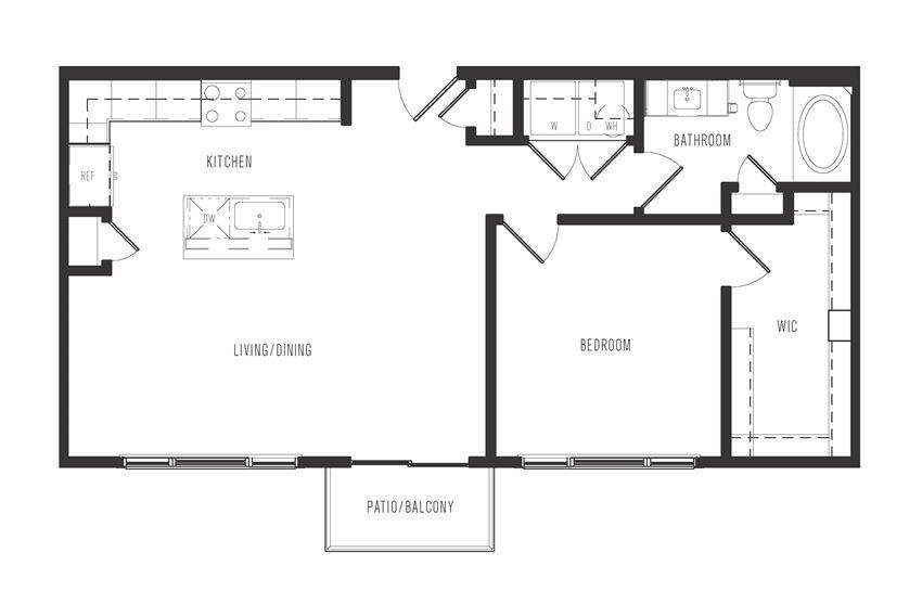 a4 floor plan in dallas texas apartments