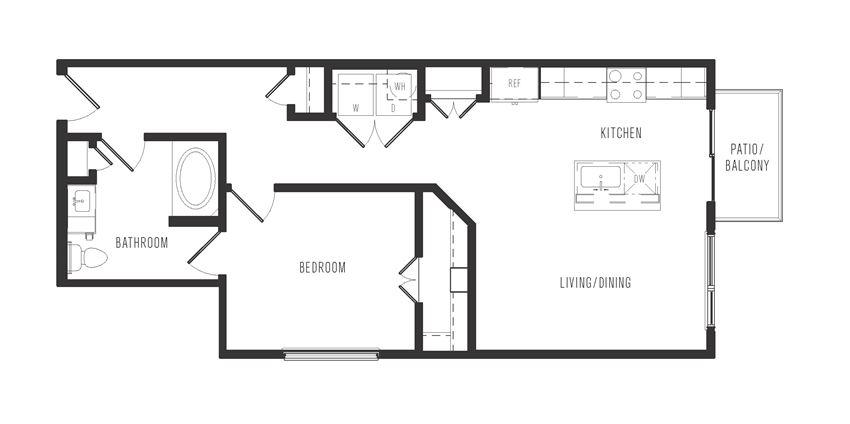 a5a floor plan in dallas texas apartments