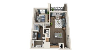 a2 floor plan in irving tx apartments
