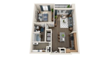 a3 floor plan in irving tx apartments