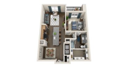 a4 floor plan in irving tx apartments