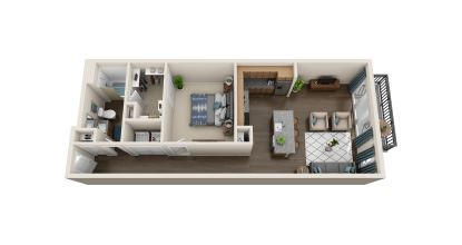 a5 floor plan in irving tx apartments