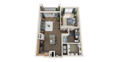 a7 floor plan in irving tx apartments