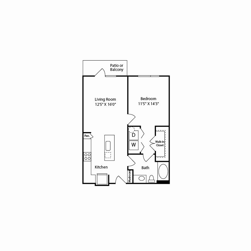 a1 floor plan in fort worth tx apartments