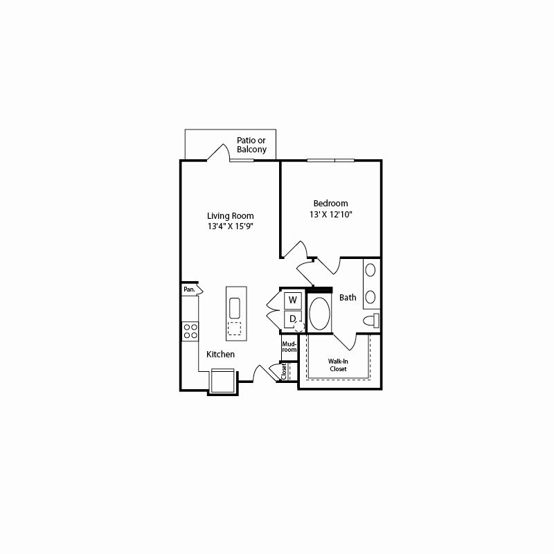 a4 floor plan in fort worth tx apartments