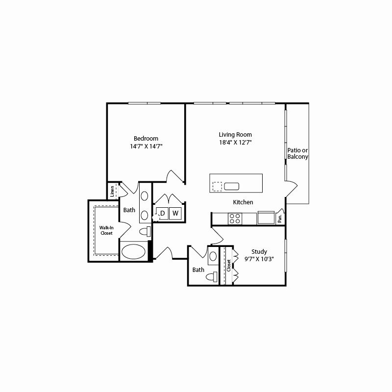 a5 floor plan in fort worth tx apartments