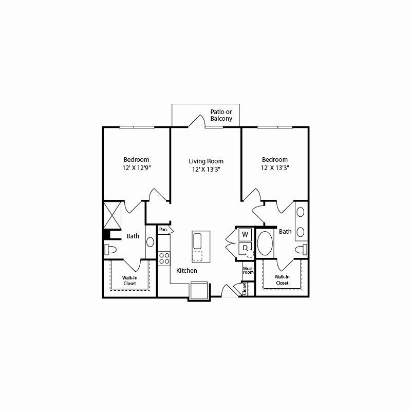 b1 floor plan in fort worth tx apartments