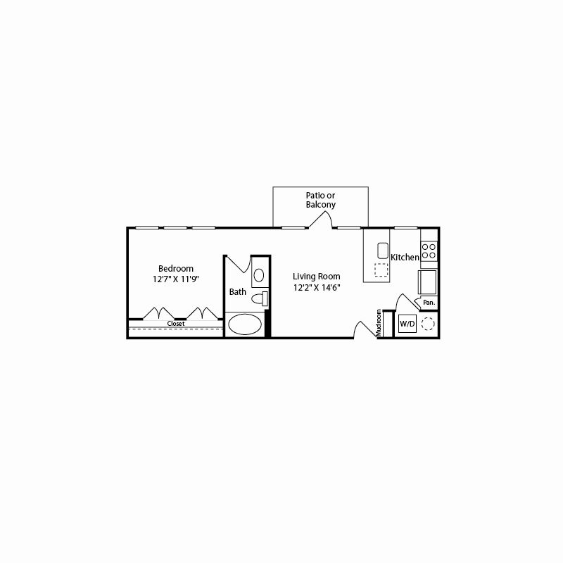 l1 floor plan in fort worth tx apartments