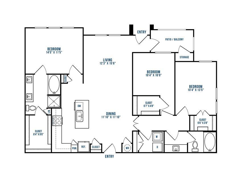 Modern Apartments for rent in Allen TX