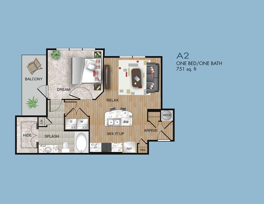 one bedroom memorial park apartments