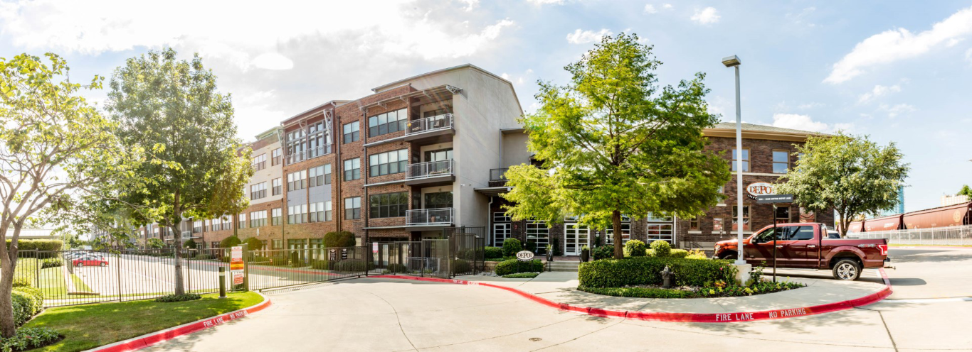 exterior panoramic in fort worth apartments