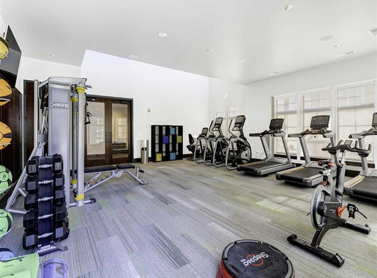 High-Tech Fitness Center at Whetstone Flats, Nashville