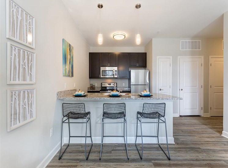 Fully-Equipped Kitchens at Whetstone Flats, Nashville, TN, 37211