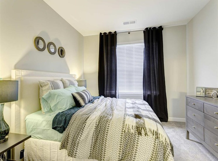 Contemporary Bedroom Design at Whetstone Flats, Nashville, Tennessee