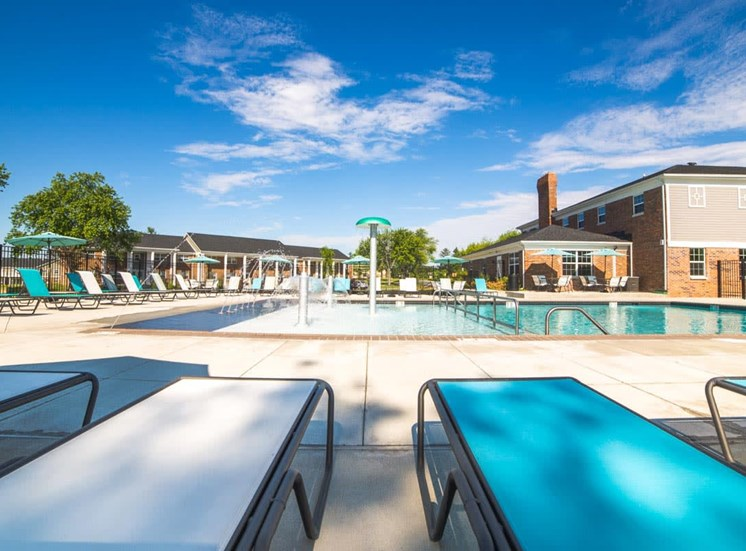Poolside Lounge Area at Gramercy, Indiana