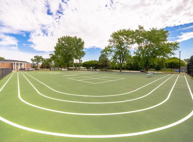 Basketball Court at Gramercy, Carmel